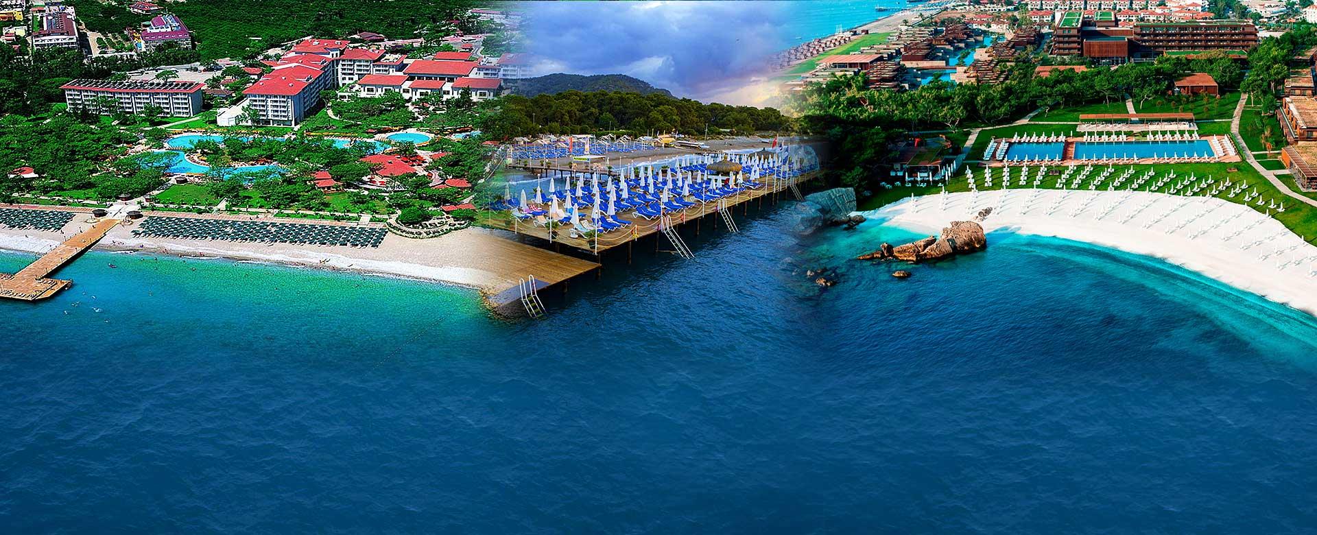 Kemer hoteli leto u Turskoj avionom, first i last minute popustima i specijalnim ponudama, avio prevoz direktnim čarter letom.