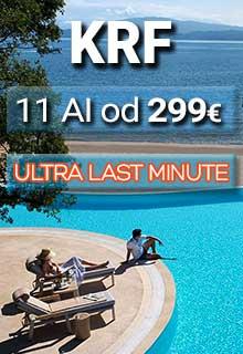 Krf first minute 2021. letovanje na prelepom grčkom ostrvu direktnim čarter letom agencije Fibula Air Travel. Krf aranžmani avionom u mestima Faliraki, Kolimbija, Afandu, u prelepom gradu Krfu, na najlepšim plažama Krfa, ponuda Krf hoteli 2021.