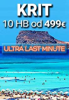 Krit first minute 2021. letovanje na najvećem grčkom ostrvu direktnim čarter letom agencije Fibula Air Travel. Krit aranžmani avionom u mestima Retimno, Hersonisos i Hanja. Leto na najlepšim plažama na Kritu, hoteli in apartmani 2*, 3*, 4*, 5*.
